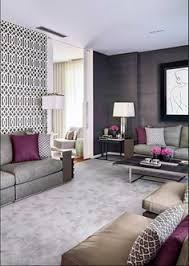 You Had Me At Grey Black Furniture Red Accents And Bedrooms - Gray color living room