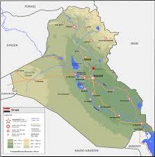 Map Iraq Atlas Of Iraq Wikimedia Commons