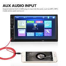 Portable Aux Port For Car Aliexpress Com Buy New 2 Din Hd Bluetooth Car Stereo Fm Radio