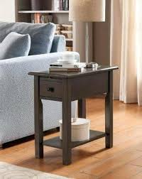 chairside table with charging station side table with usb port elrincondemama co
