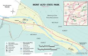 Penn State University Park Map Mont Alto State Park Find Your Chesapeake National Park