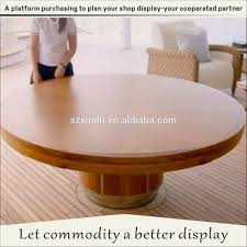 Stretching Table by From The Small Round Table Stretching Into A Big Round Table And