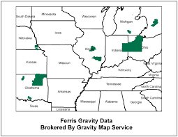 Data Map Ferris Gravity Data Gravity Map Service