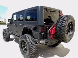 jeep hardtop custom 2017 jeep wrangler unlimited 4 door custom lifted 4x4m with winch