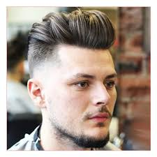 Hairstyles 2014 Men by Best Men Haircut 2014 And Fresh Low Taper Fade With Thick Brushed