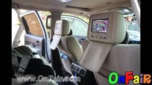 toyota highlander dvd headrest 2008 toyota tundra car headrest dvd monitors installation
