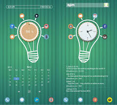cool android widgets 30 cool and customized android home screens hongkiat