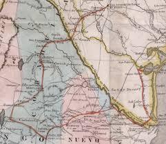 Map Of Corpus Christi Mapa De Los Estados Unidos De Méjico Segun Lo Organizado Y