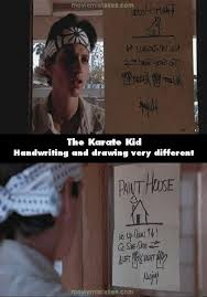 the karate kid 1984 corrections