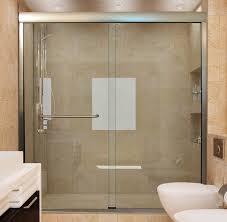 Bathroom Shower Doors Ideas Sliding Glass Shower Doors Handle Adeltmechanical Door Ideas