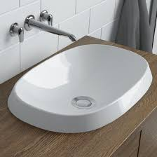 Ico Canada Calma Rossini Oval Vessel Sink B9841 Bath Fixtures For Bathroom Fixtures Mississauga