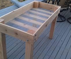 build a small garden box home outdoor decoration