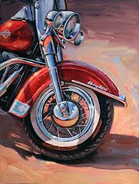 harley heritage soft tail 6 cycles of art pinterest harley