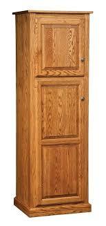 kitchen pantry wood storage cabinets oak pantry storage cabinet ideas on foter