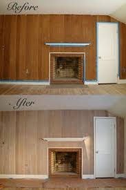 how to paint wood panel design art life how to whitewash wood paneling with paint 1