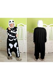 Kigurumi Halloween Costume Skeleton Kigurumi Halloween Onesie 4kigurumi