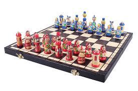 decorative folding wooden chess sets