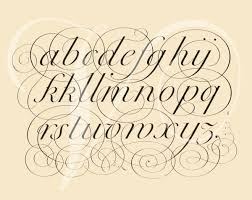 8 best images of calligraphy letters from az fancy calligraphy