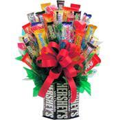 for the love of chocolate candy bouquet unique chocolate gift