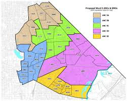 Baltimore City Council District Map Thomas Adopts Fair Community Proposal For Anc Map U2013 Greater