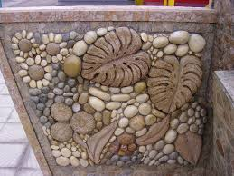 best 25 stone mosaic ideas on pinterest pebble mosaic mosaic