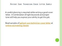 hemodialysis technician cover letter