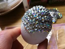 Easter Egg Decorating Blown Eggs martha stewart s u003drhinestone easter eggs google search crafts