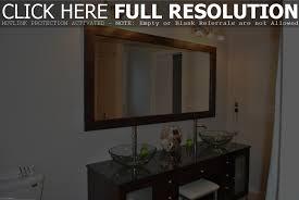 framed bathroom mirrors ideas framed bathroom mirrors diy best bathroom design