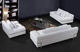 Variants How To Use White Sofa Set In Your Design Interior - White leather sofa design ideas