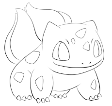 bulbasaur coloring free printable coloring pages