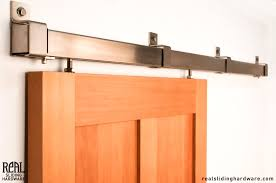 Sliding Bypass Barn Door Hardware by Barn Rail Door Hardware Ceiling Sliding Door Hardware Ceiling