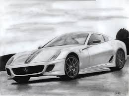 car ferrari drawing here u0027s another drawing that i drew of a ferrari 599 gto what you