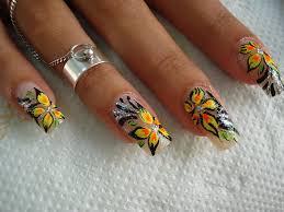 25 beautiful flower nail art designs indian beauty blog