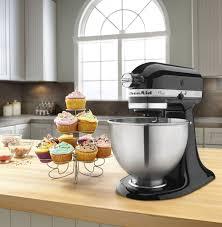 kitchenaid mixer black kitchenaid classic series 4 5 quart tilt head stand mixer