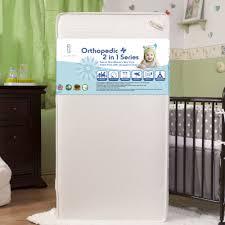 Safety First Heavenly Dreams White Crib Mattress by Mattresses Sealy Soybean Plush Foam Crib Mattress Safety 1st