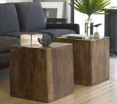 Wood Ottoman Interiors Living Wood Cube Ottoman Wood Cube Ottoman In Flickr
