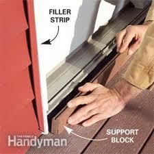 How To Install Sliding Patio Doors Replace A Patio Door Family Handyman