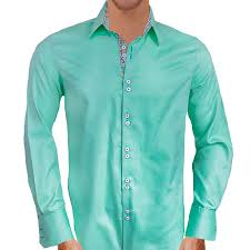green with purple dress shirts