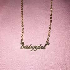 baby name plate necklace listing not available pandora jewelry from daxia s closet on