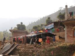 Warm Situation January 2016 Actual Situation Of The Earthquake Victims In The