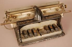 Blind Write From Our Collection The Hall Braille Writer C 1892 Was