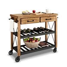 fremont kitchen cart natural value city furniture