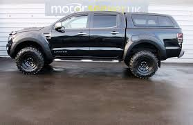 ford ranger raptor 2017 3 2 no vat ford ranger seeker raptor edition truck in black