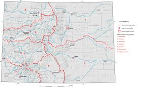 Map Of The State Of Colorado by Downloads