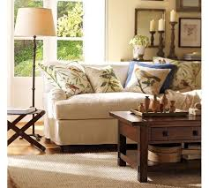 vintage livingroom sofas and living rooms ideas with a vintage touch from pottery