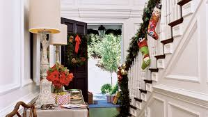 Decorating Banisters For Christmas Easy Holiday Decorating Ideas Coastal Living