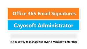 how to bulk create office 365 email signature with cayosoft