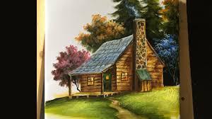 basic house painting the basic house in acrylics lesson 2 youtube