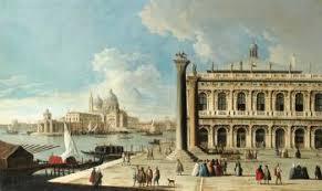 A Place Vue Venise Vue De La Place Marc Vers Le Grand Canal Et L église