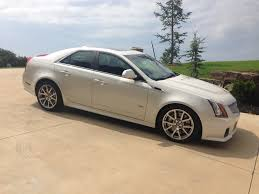 2012 cadillac cts v white diamond sedan ls1tech camaro and